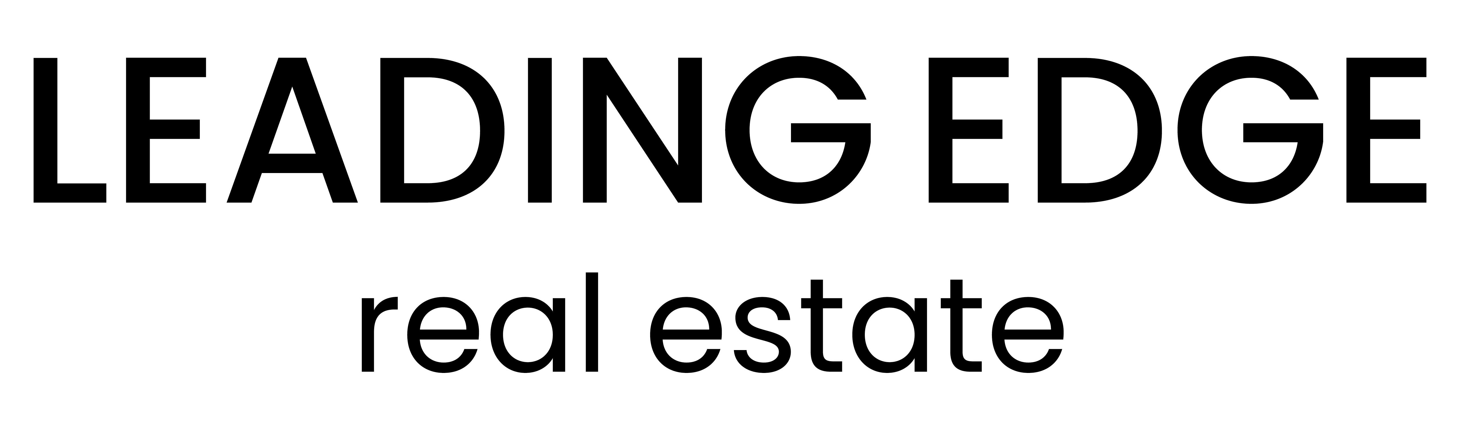 Leading Edge Real Estate logo